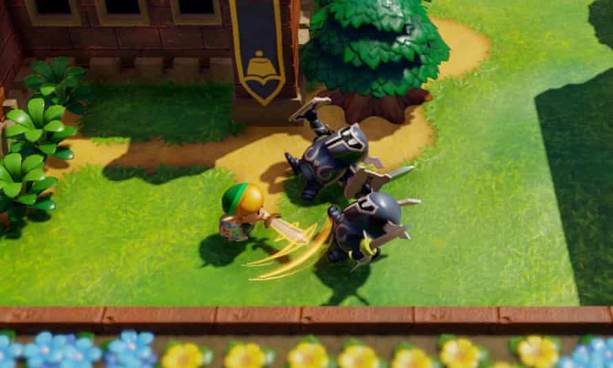A masterpiece of design … Legend of Zelda: Link's Awakening.