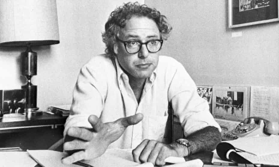 Bernie Sanders six months after becoming mayor mayor of Burlington, Vermont's largest city, in 1981.