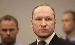 Anders Behring Breivik in court in 2012.