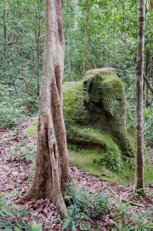 There is an undiscovered city beneath Mount Kulen. revealed: cambodia's vast medieval cities hidden beneath the jungle Revealed: Cambodia's vast medieval cities hidden beneath the jungle 1586