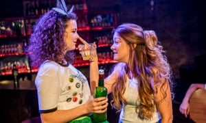 Georgina Hellier and Julie Atherton in The Green Fairy.