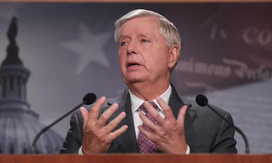 """US Senator Lindsey Graham this week said that he believes American troops """"will be going back into Afghanistan"""" in the future"""