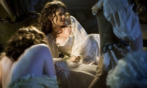 Scene from BBC 4's 2007 adaptation of Fanny Hill, a text allegedly dropped from Royal Holloway's course.