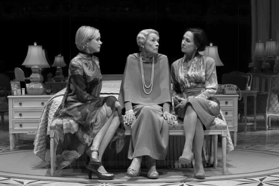 Alison Pill, Glenda Jackson and Laurie Metcalf.