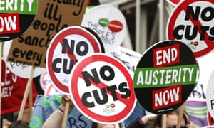 Anti-austerity protests this year