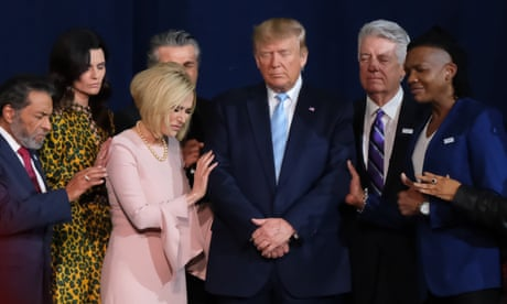 Evangelicals using religion for political gain is nothing new. It is a US tradition