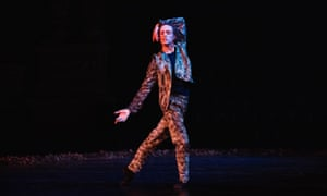 'Forty minutes of solo prowling': Sergei Polunin in Sacré at the London Palladium.