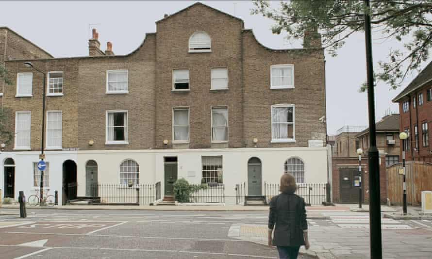 No 8 Royal College Street, Camden, north London.