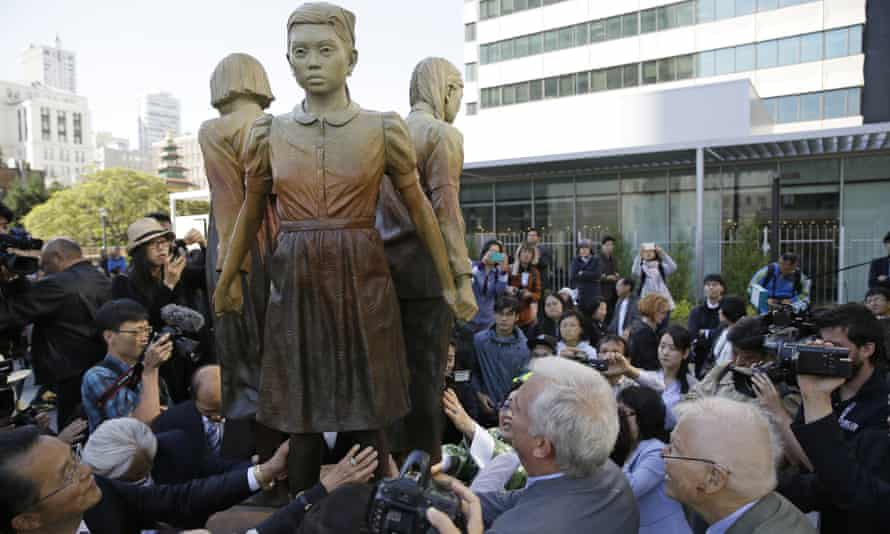 The 'comfort women' monument was unveiled in San Francisco in 2017