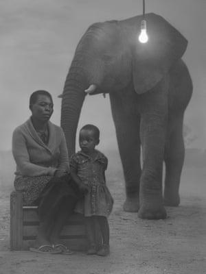 Luckness, Winnie and Kura, Zimbabwe, 2020