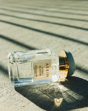 Aegea Blossom, £98, by Aerin from Estée Lauder: the idea here is to smell like holidays. Think flowers in a sea breeze.