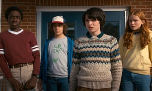 The talented young cast of Stranger Things.