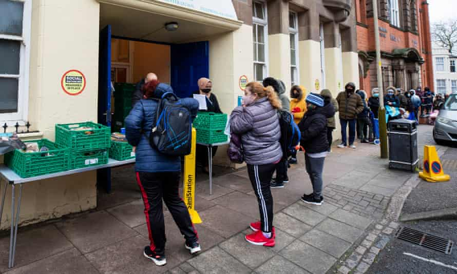Wesley Hall Community Centre food bank in Leicester