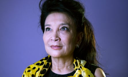 'I feel lucky' ... Wild Swans author Jung Chang.