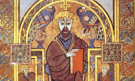 'It had more leaves in the 17th century than it does now' … an illumination to the Book of Kells.