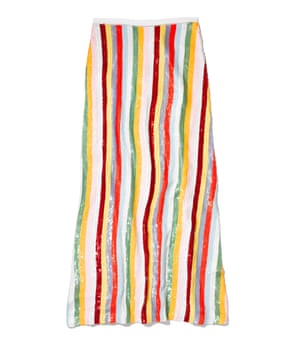 Skirt, £995, by J Crew.