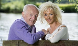 Paul Daniels and his wife Debbie McGee at their home in 2014.