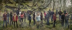 From left: Robert, Andrew, Lloyd, Jasmine, Matt, Stephen, Tara, Caroline, Rachel, Josie, Robert P, Katie, Raphael, Jenna, Tom, Jane, Jack, Ali, Oli, Glenn, Sam, Ben and Anton.