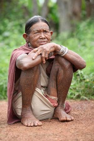Baiga woman, Chadha village