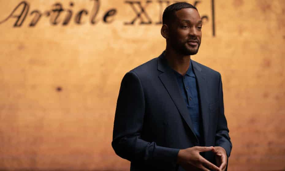 Will Smith in Amend: The Fight for America.