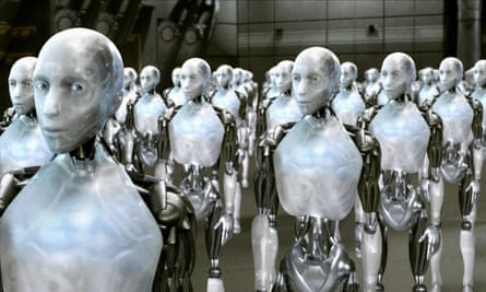 Human replicants in the 2004 film I, Robot.