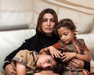 Amira and her Children by Ivor Prickett © Ivor Prickett/UNHCR/Panos Pictures - £1,000 Fourth Prize winner