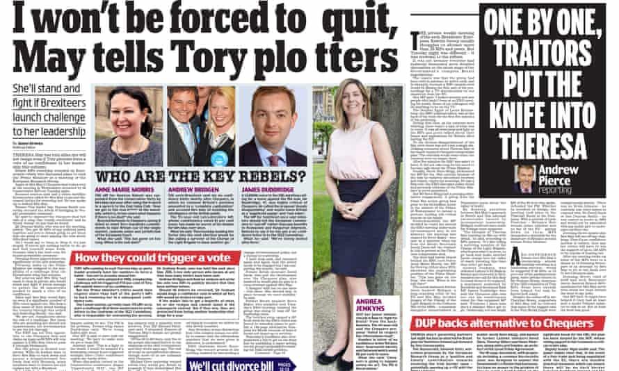 A page from the Daily Mail
