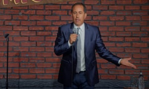 Jerry Seinfeld at a standup performance
