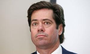 AFL chief executive Gillon McLachlan