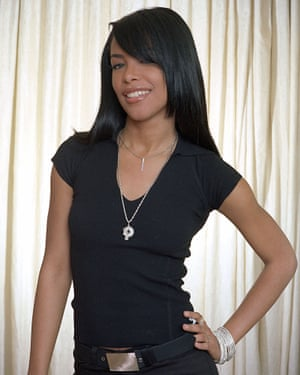 R&B singer and actress Aaliyah married R Kelly in a secret ceremony in 1994.