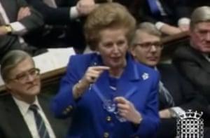 Margaret Thatcher ' I'm Enjoying This ' moment