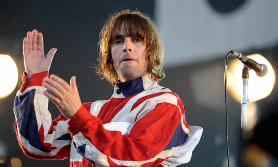 Liam Gallagher at the Isle Of Wight festival