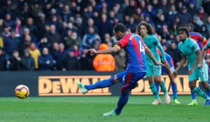 Milivojevic scores his second goal from the penalty spot.