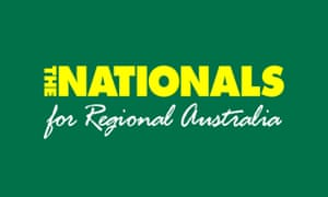 The Nationals party logo