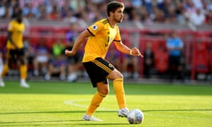 Wolves midfielder Rúben Neves.
