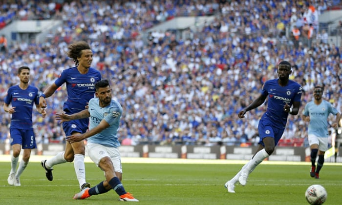 9a0e93dd2 Sublime Manchester City sweep Chelsea aside to lift Community Shield ...