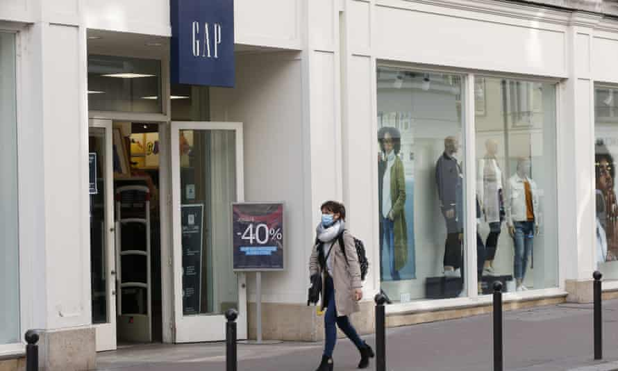 Gap store in France