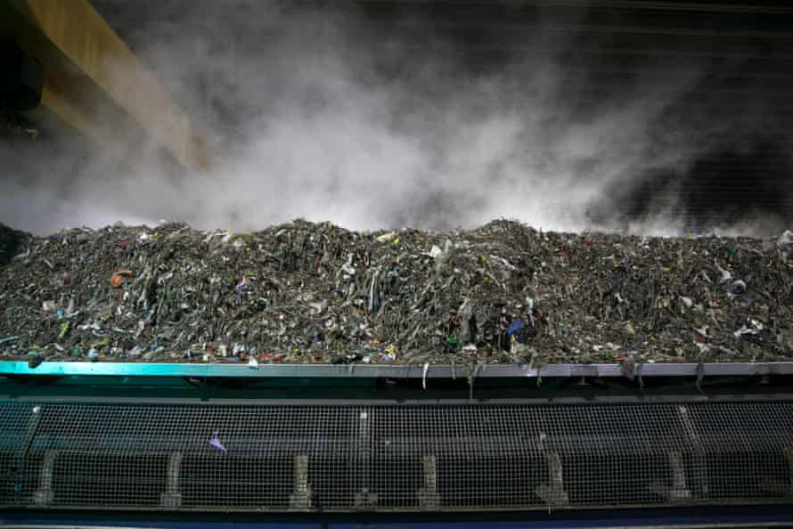 Material spends at least 2 weeks inside the composting hall, where augers slowly turn the material and move it across the bay. The composting process is run by controlling moisture and air levels, reaching temperatures above 55 degrees.