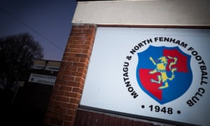 Montagu and North Fenham boys club, which is now a family run club with 400 young people playing organised football regularly.