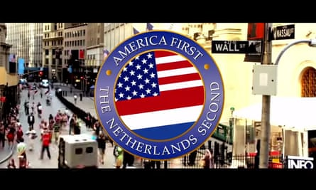 Screengrab from viral video introducing Trump to the Netherlands