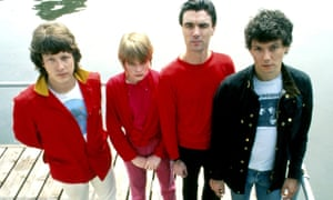Talking Heads Posed In AmsterdamAMSTERDAM, NETHERLANDS: JUNE 01: Talking Heads posed in Amsterdam, Netherlands in June 1977. L-R Chris Frantz, Tina Weymouth, David Byrne, Jerry Harrison (Photo by Gijsbert Hanekroot/Redferns)
