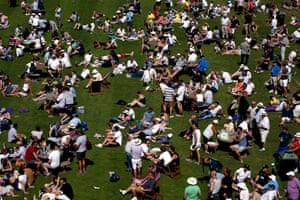 London, UK. Spectators enjoy the Royal London One-Day Cup final between Hampshire and Kent at Lord's
