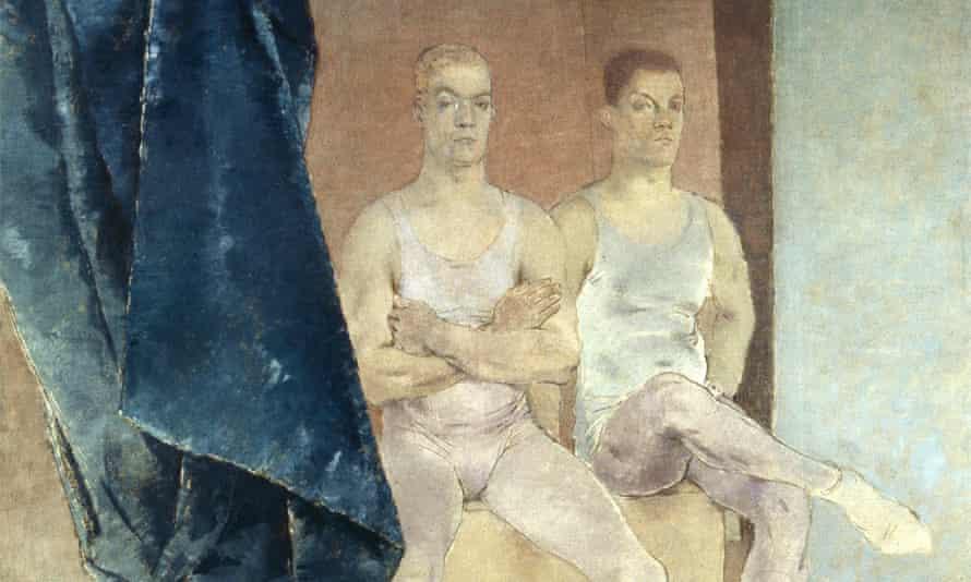 Acrobat Waiting to Rehearse, 1936, Glyn Warren Philpot.