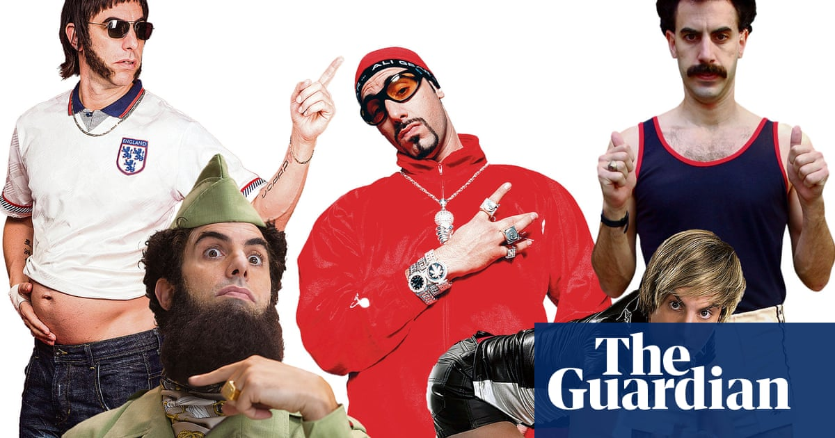Is it cos I is wack? The rise and fall of Sacha Baron Cohen