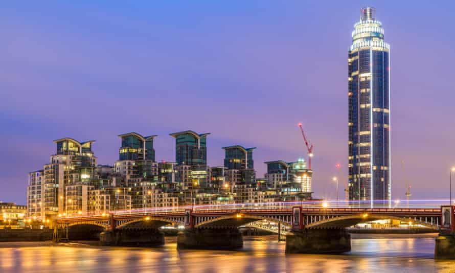 St George Wharf in London