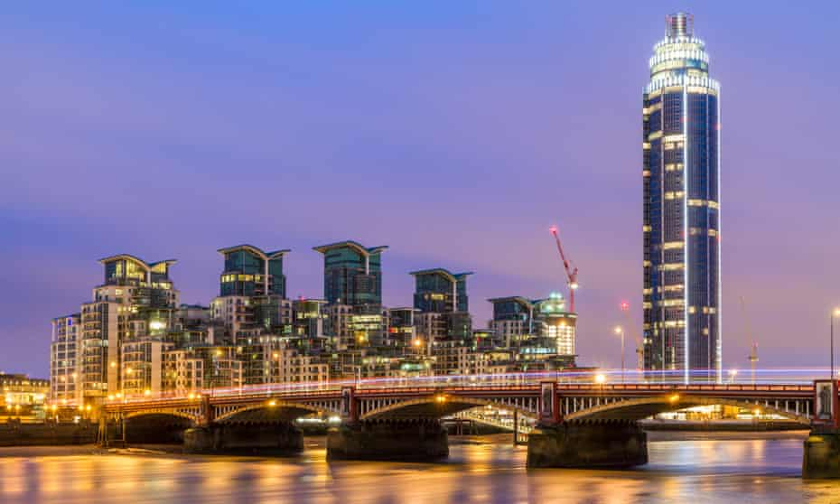 St George Wharf Tower in London