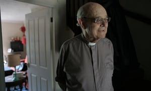 Rev Paul Nicolson at his home in Tottenham, London, in 2016