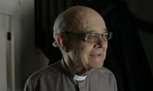 Rev Paul Nicolson at home in Tottenham, north London.