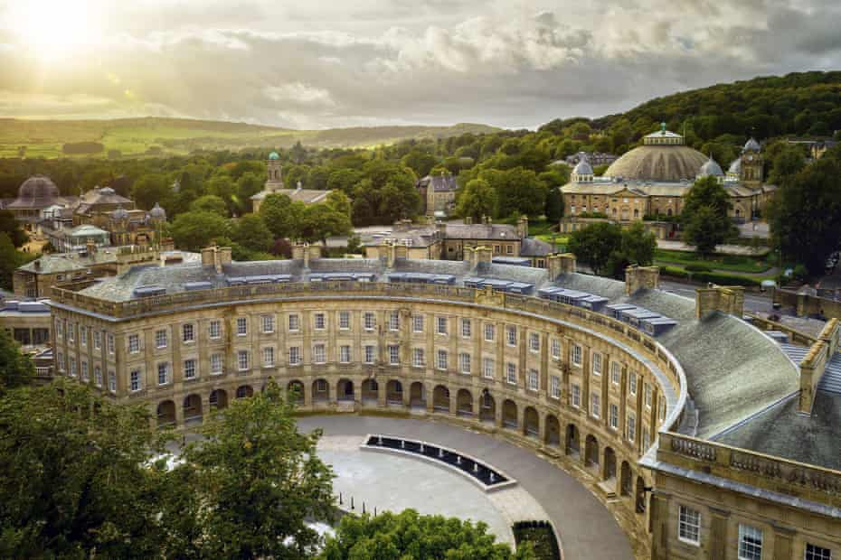The Crescent, Buxton in Derbyshire