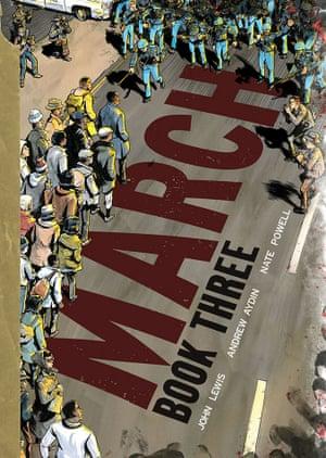 March book three cover